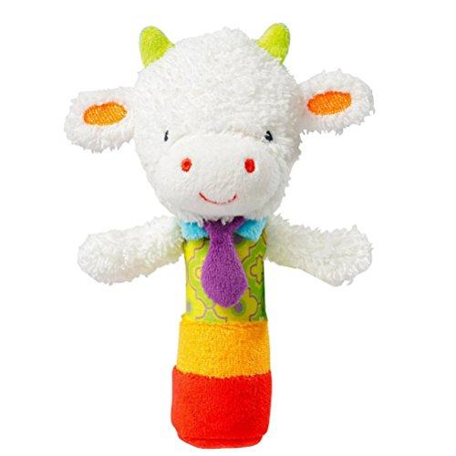 YeahiBaby Bébé Jouet Hochet Clochette Peluche Éveil Mignon Animal Jouets Enfant Cadeau (moutons)