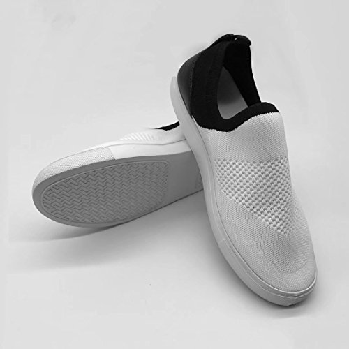Sports The Sneakers Shoes Wolves Men's Fly ZeZe White Comfortable Knit Mars Starry qn8pfT1Ex