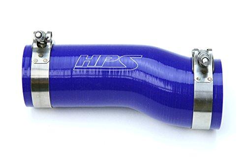 HPS 57-1595-BLUE Blue Silicone Air Intake Hose Kit Post MAF Tube