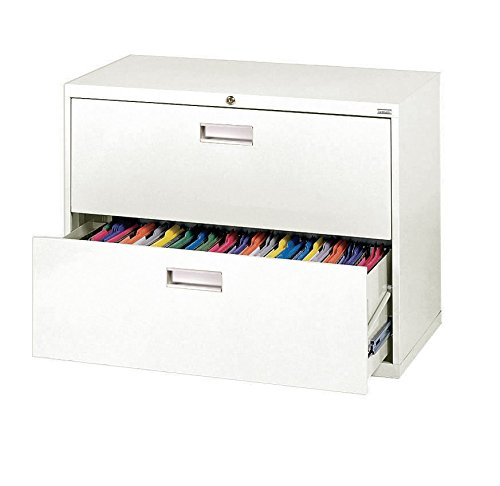 BUDDY PRODUCTS Lateral File Box, White -
