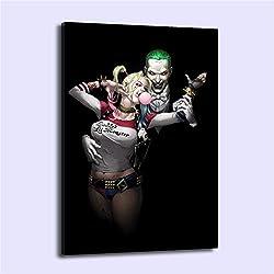 41LPsZwgwEL._AC_UL250_SR250,250_ Harley Quinn Canvas Wall Art