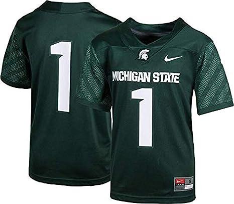 2bafa530677 Amazon.com   NCAA Michigan State Spartans Kids Football Jersey ...
