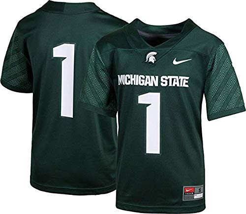 (NCAA Michigan State Spartans Kids Football Jersey (Small (4)))
