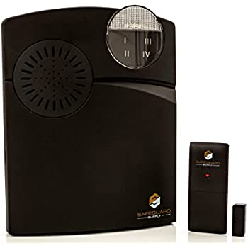Entrance Alert - Retail Store Door Chime - Door Contact Alarm With Contact Sensor u0026 Wireless Door Chime - Wireless Doorbell Long Range Up To 1000 Ft.  sc 1 st  Amazon.com & Amazon.com : Dakota Alert Door Chime Magnetic Contact : Security ...