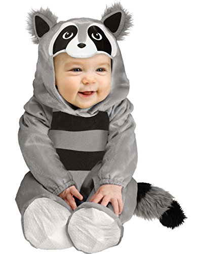 Fun World Baby Raccoon Costume - Infant Large