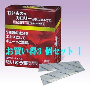 せいとう茶 60g(2g×30袋) (お買い得3箱セット) B00LHR2NV4
