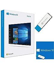 Windows 10 Home USB - Full Version 32 & 64 Bit - English - Lifetime License for 1 PC