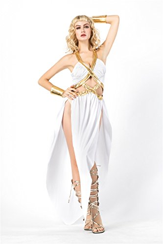 Halloween Cosplay Ancient Greek Goddess of Freedom Clothing Sexy Lingerie Stage Costume (002) -