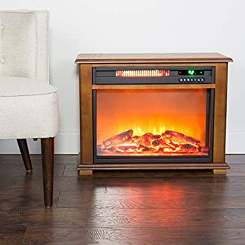 Amazon Com Lifesmart Easy Large Room Infrared Fireplace