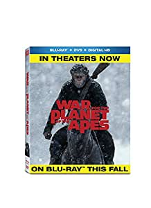 War for the Planet of the Apes (BD + DVD + Digital HD) [Blu-ray]