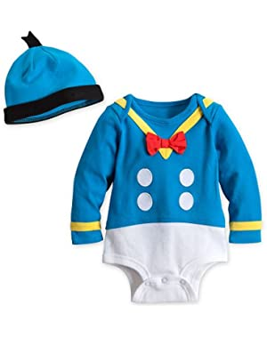 Store Donald Duck Onesie Halloween Costume Bodysuit/Hat