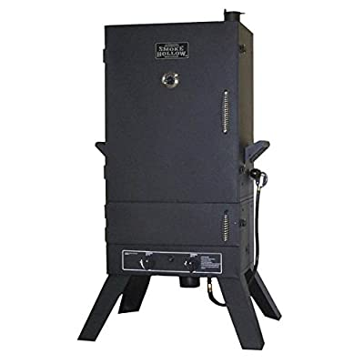 Smoke Hollow 44 in. Dual Burner Propane Smoker with Lower Drawer from Outdoor Leisure Products Inc