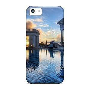 Iphone 5c Case Bumper Tpu Skin Cover For Neptune Pool Hearst Castle City Accessories