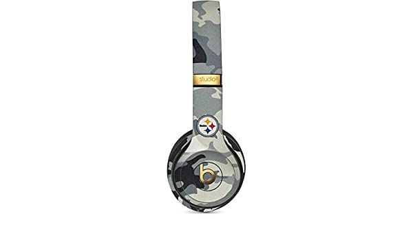 Skinit Decal Audio Skin for Studio Wireless 3 Officially Licensed NFL Pittsburgh Steelers Black /& White Design