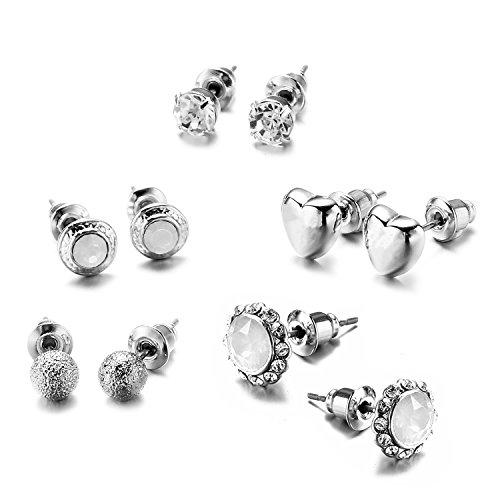 5 Pair Fashion Earrings - 6