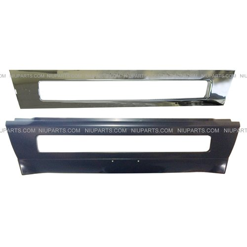 Central Bumper with Trim Chrome ( Fit: Volvo VNL Trucks (Volvo Bumper Trim)