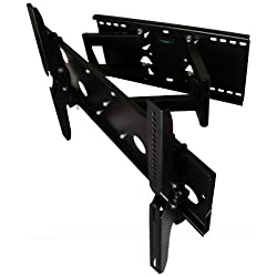 Articulating, Tilting, And Swiveling Tv Wall Mount