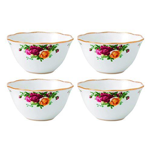 Old Roses Country - Royal Albert Old Country Roses Bowl (Set of 4), 4.3