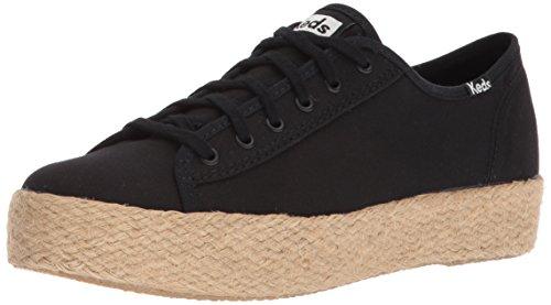 Kick Noir Tpl Femme Baskets Jute Black Keds UxwAqO48q