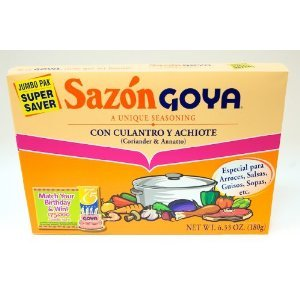 Goya Sazon with Coriander & Annatto - 6.33 oz. (Pack of 3) by Unknown (Image #1)