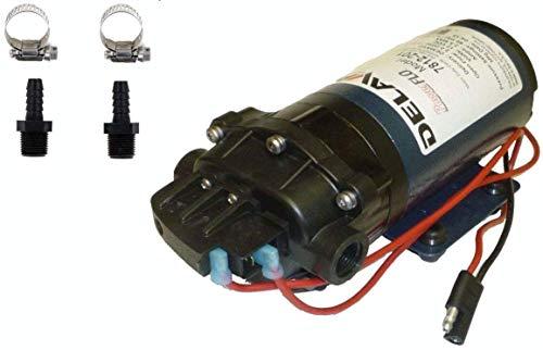(Delavan 7812-201 PowerFlo 12V Demand Diaphragm Pump with Male 3/8
