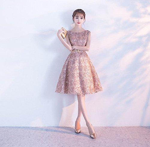 Kleid Party Geburtstagsfeier Kleid Prinzessin EIN Mode Y Partykleid L Kurze 1wx5AFTq