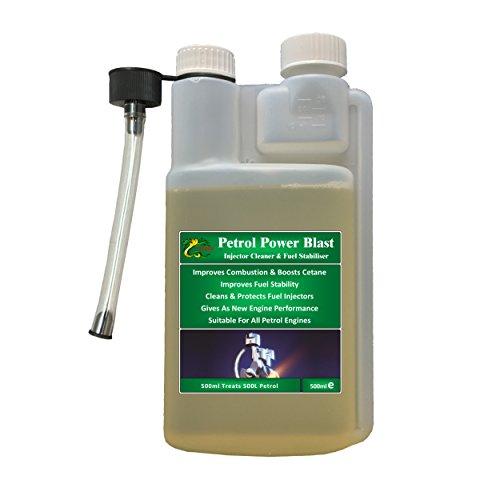Hydra Petrol Power Blast Treats 500L+ Fuel Injector Cleaner 500ml