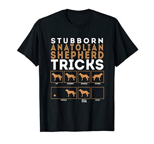 Stubborn Anatolian Shepherd Dog Tricks Graphic T-Shirt