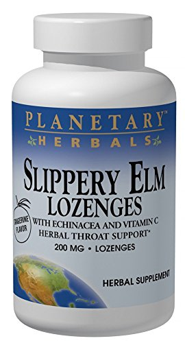 - PLANETARY HERBALS Slippery Elm Lozenges, 200 Count