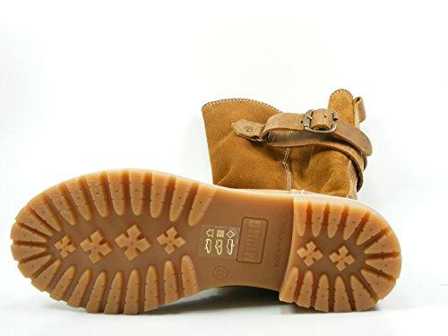 in Stiefel Mustang Übergrößen Damen Taupe Schuhe rI5wqFR5