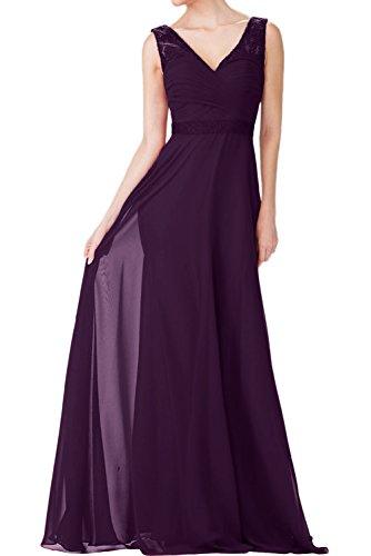 Elegant Braut Etuikleider Partykleider Festlichkleider Traube Promkleider Abendkleider Ballkleider Burgundy mia La qOxt5g