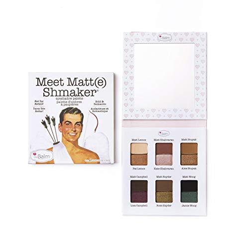 (Meet Matt(e) Shmaker Eyeshadow Palette, Highly Pigmented Shades, Easily Blendable)