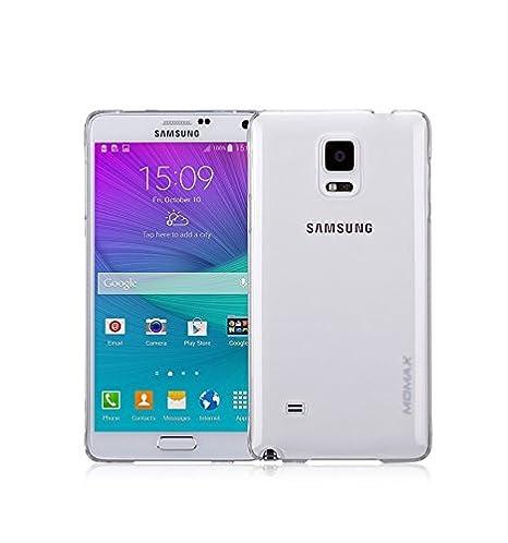 Momax - Carcasa Samsung Galaxy Note 4 Ultrafina MOMAX Clear ...