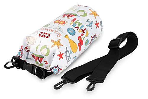 NVcompany Waterproof Bag - Dry Bag Kayaking and Camping 10L Roll Top Keeps Your Gear Dry While Rafting Boating at Beach and Hiking by NVcompany (Image #1)
