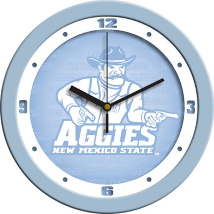 State Mexico Wall Clock 12 - SunTime New Mexico State Aggies 12