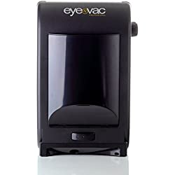 Eye-Vac EVPRO Tuxedo Black Touchless Stationary Vacuum – 1400 Watts Professional Vacuum with HEPA Filtration, Bag-less Canister. Floor Care