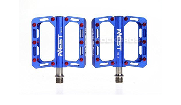 AEST CNC Platform Pedals with Ti Axle 09 Series
