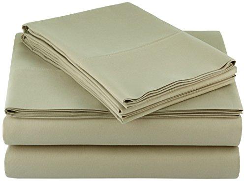 AmazonBasics Microfiber Sheet Set Olive