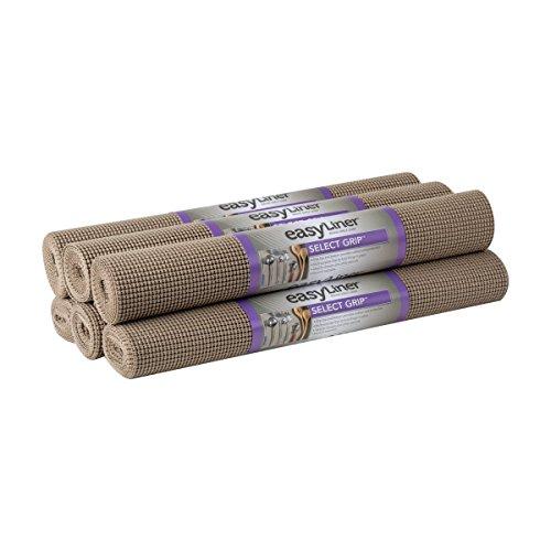 Duck Select Grip Easy Liner Shelf Liner, Under Cabinet Multipack, 6-Rolls, Each 20