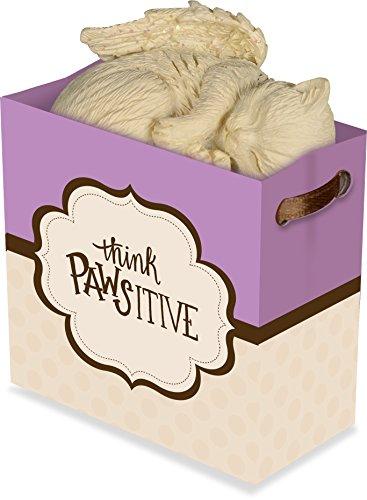 Angelstar 20240-2 Think Pawsitive Inspiration to Go Puppy Angel Figurine, 2-1/4