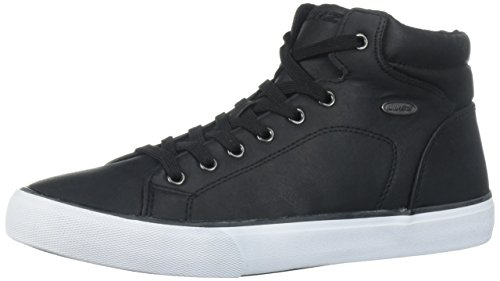 Lugz Men's King LX Sneaker, Black/White, 11.5 D US
