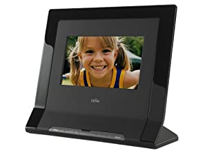 ceiva 7 inch digital photo frame with card reader