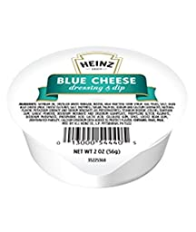 Heinz Blue Cheese Dressing & Dip, 2-Ounce Dipping Cup (Pack of 60)