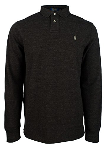 Polo Ralph Lauren Men's Custom Slim Fit Long Sleeve Polo Mesh - Bh Clothing Stores