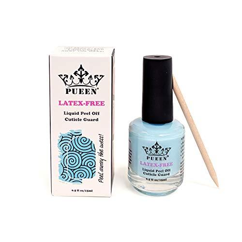 PUEEN NEW LATEX-FREE Liquid Tape Peel Off Cuticle Guard Skin Barrier Protector Nail Art Latex Free Odor Free 15ml BH000929