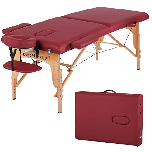 - Massage Table Massage Bed Spa Bed PU Portable 84