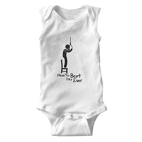 Juliuse Marthar Sleepwear Have The Best Day Ever Best Day Ever Wedding Baby Onesie Sleeveless Shirt Clothing