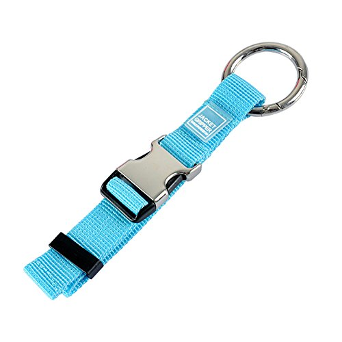 (Add-A-Bag Luggage Strap Jacket Gripper, Luggage Straps Baggage Suitcase Belts Travel Accessories - Make Your Hands Free, Easy to Carry Your Extra Bags, Blue)