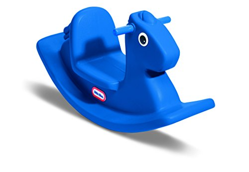 Little Tikes Rocking Horse Blue - Childs Rocking Horse