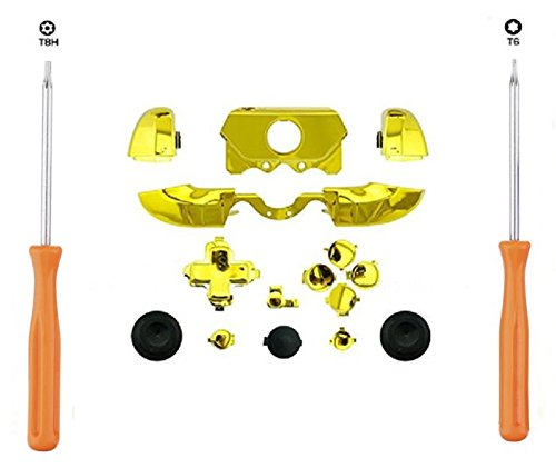 ZYJ-AWASA Replacement Chrome Gold Bumper Triggers + T8H T6